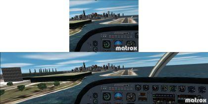 Surround Gaming mit Flight Simulator 2002