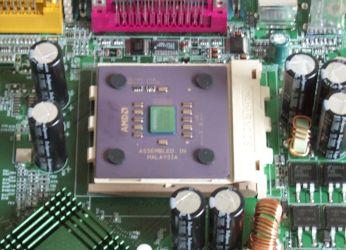 Duron auf Mainboard (MSI K7T Pro)