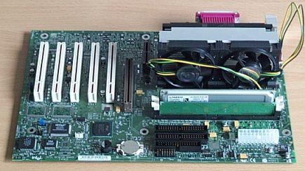 Pentium III 1000 im Intel VC820 mit 128 PC800 Rambus