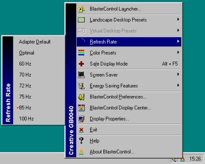 Creative BlasterControl