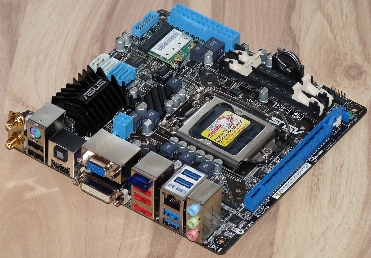Asus P8H67-I Driver for Windows 7
