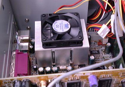CPU und Kühler