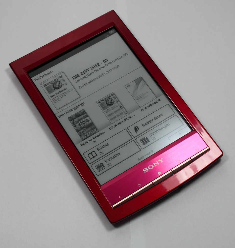 Sony digital book reader prs-t1 review sites