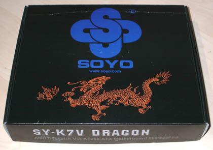 Soyo K7V Dragon Verpackung
