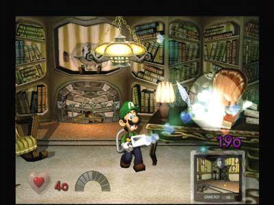 Luigi in Aktion