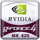 nVidia GeForce4 MX420 Logo
