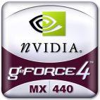 nVidia GeForce4 MX440 Logo