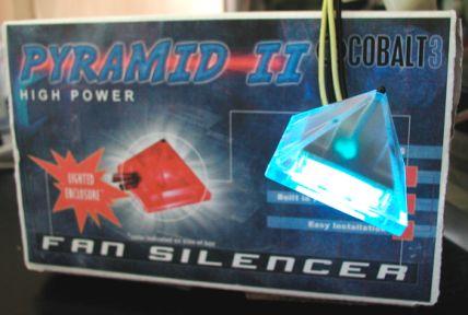 Pyramid II Cobalt3 Lüftersteuerung