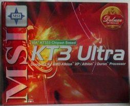 MSI KT3 Ultra-ARU Box