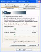 Albatron GeForce4 Ti4200P Taktraten