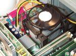 Intel Referenzkühler auf Pentium 4 3.06GHz und Intel D850EMV2 Mainboard