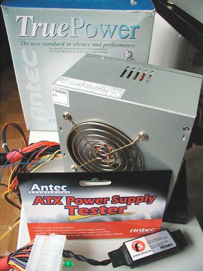 TruePower Netzteil und Tester von Antec