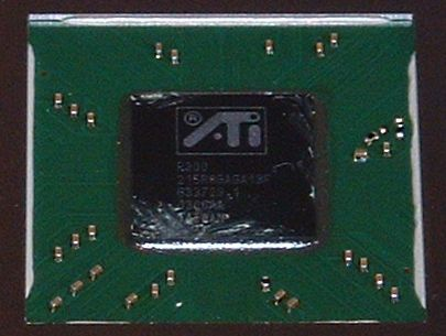 Grafikchip der Medion Radeon 9600TX