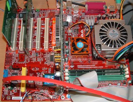 MSI 845PE Max3 im Einsatz