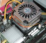 PowerCooler PCW192H auf Intel D875PBZ-