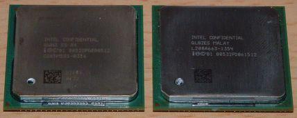 Aktuelle Pentium 4 Prozessoren (Bild )