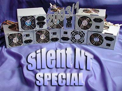 Silent-Netzteil Special - Auftakt 2003