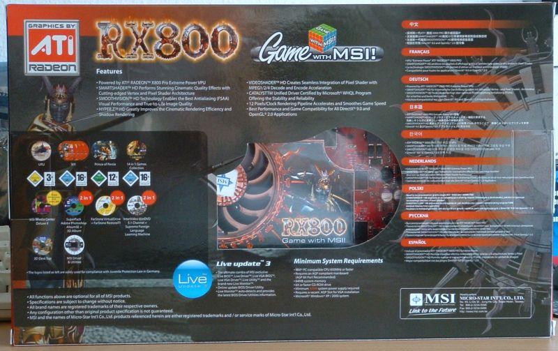 Msi rx800