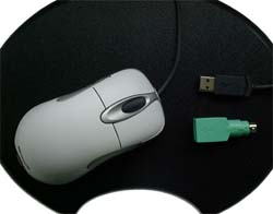 Intellimouse Optical auf Everglide Pad