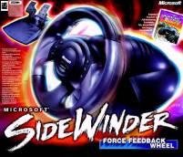 Sidewinder Force Feedback Wheel