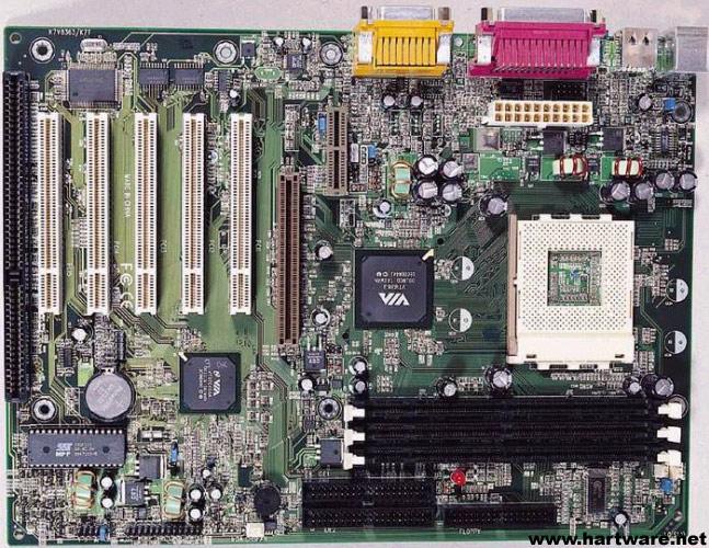 QDI KinetiZ 7T Motherboard