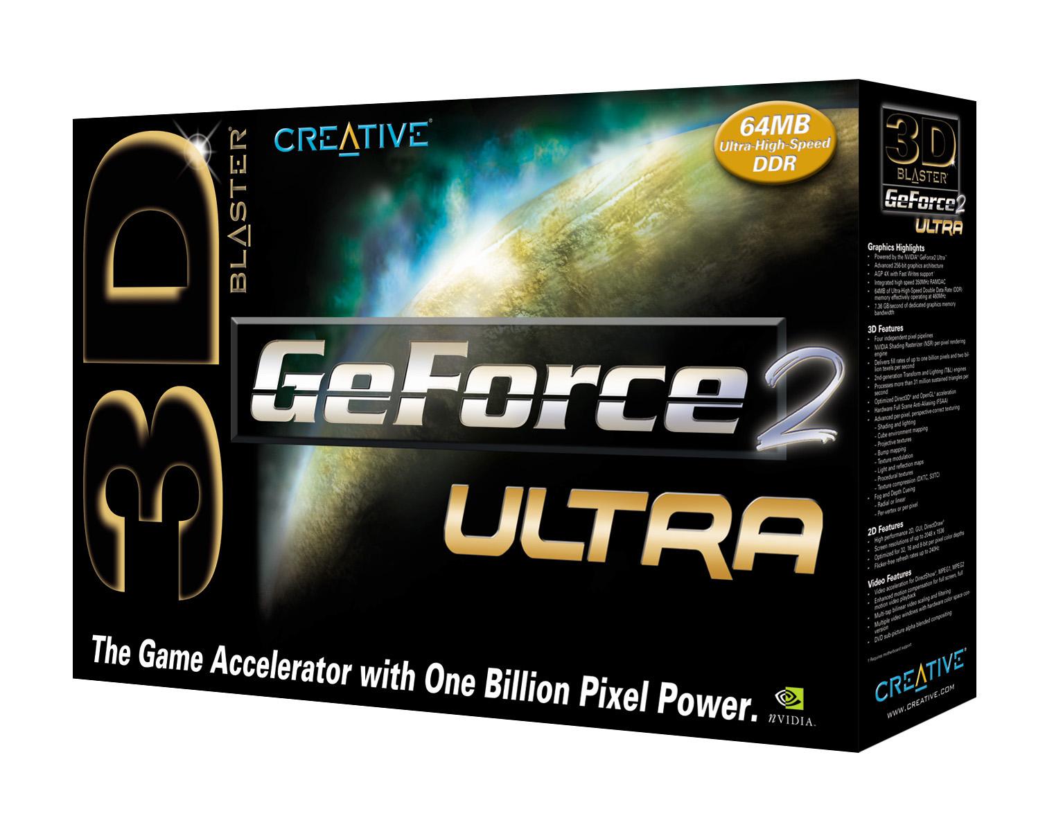 Creative Labs GeForce 2 Ultra Verpackung
