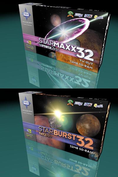 Starmaxx und Starburst