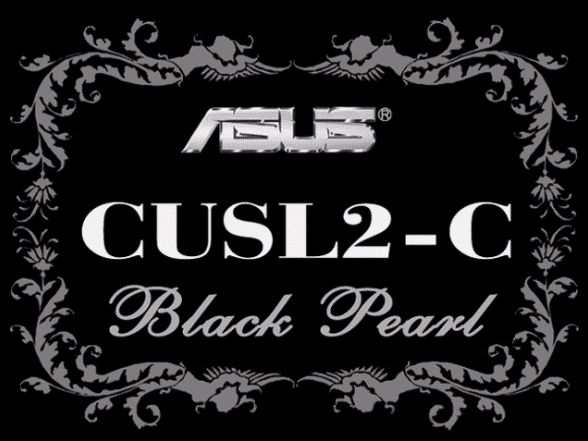 Asus CUSL2-C Black Pearl Box