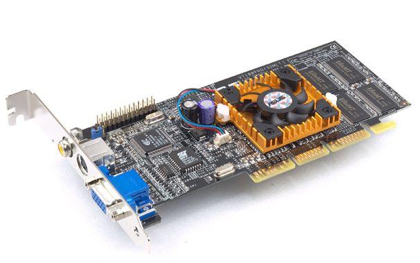Asus V7100 Pro mit GeForce2 MX400