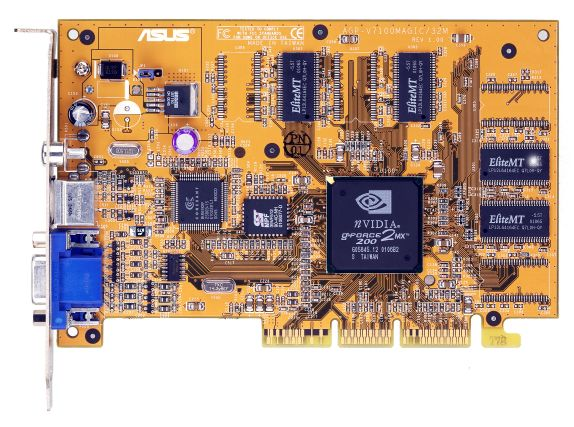 Asus V7100 Magic T mit GeForce2 MX200