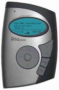 Sonicblue Rio 800
