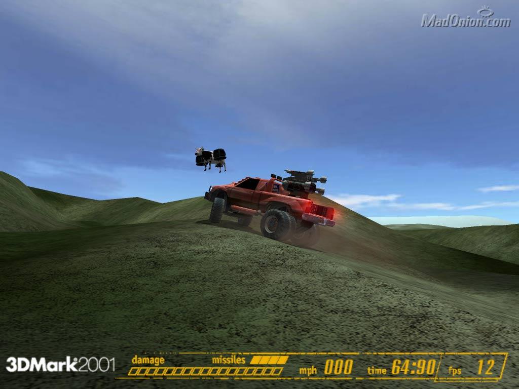 3DMark2001 Easter Egg