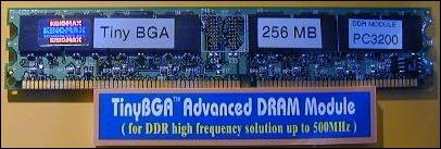 PC3200 DDR-RAM Modul Entwicklungsmuster