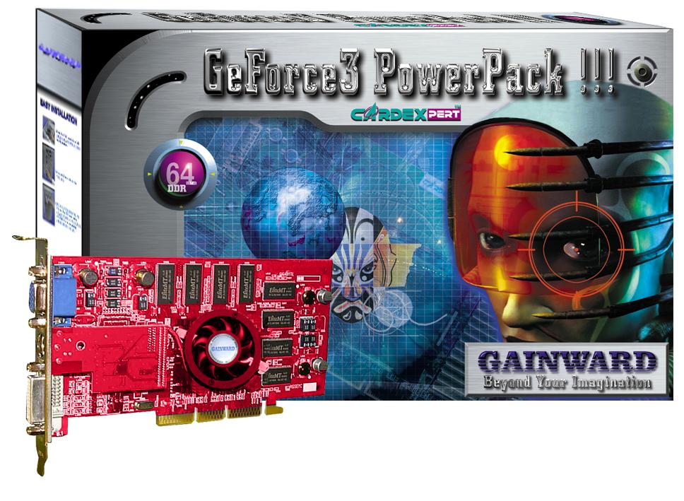 Gainward GeForce3 PowerPack!!!