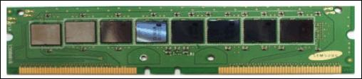 RDRAM Module mit demontiertem Kühler