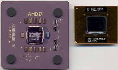 Vergleich: Mobile Athlon 4 vs. Mobile Pentium III