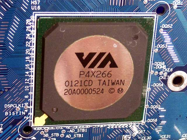 VIA P4X266