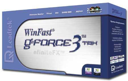Leadtek WinFast GeForce3 TDH Packung