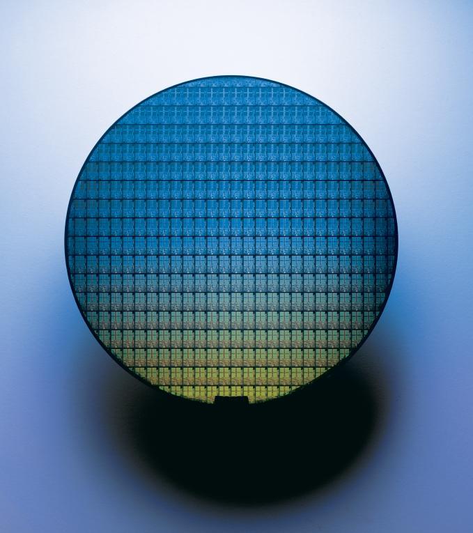Mobile Pentium III-M Wafer