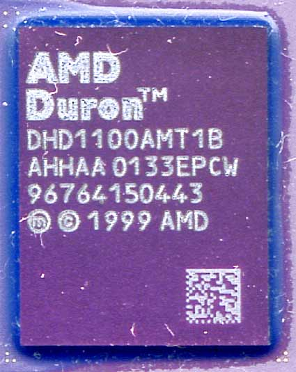 1,1GHz Duron (Quelle: Toms Hardware)