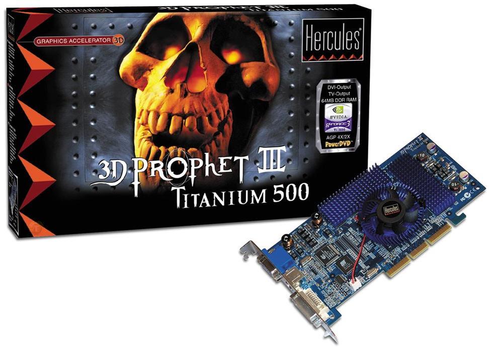 Hercules 3D Prophet III Titanium 500
