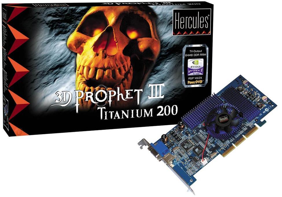 Hercules 3D Prophet III Titanium 200