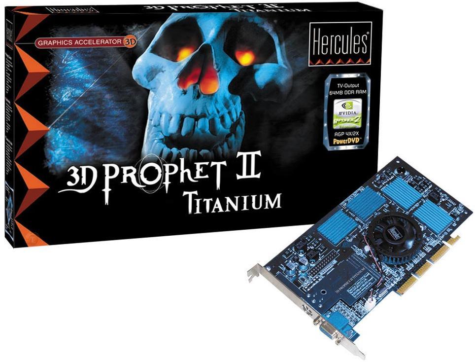 Hercules 3D Prophet II Titanium