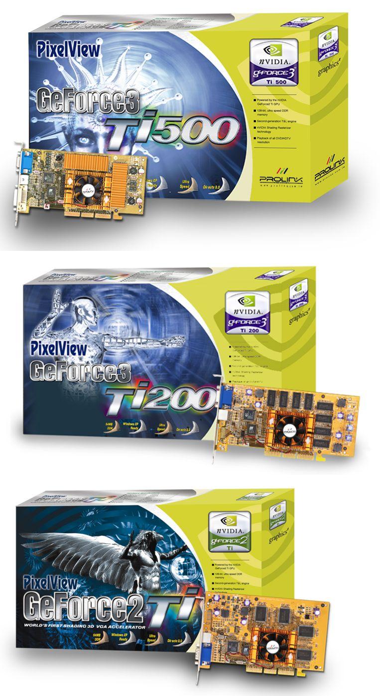 Prolink PixelView GeForce3 Ti 500