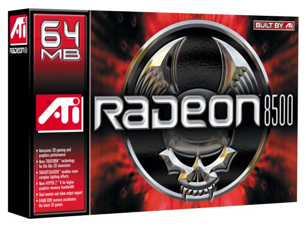 Radeon 8500 Retailverpackung