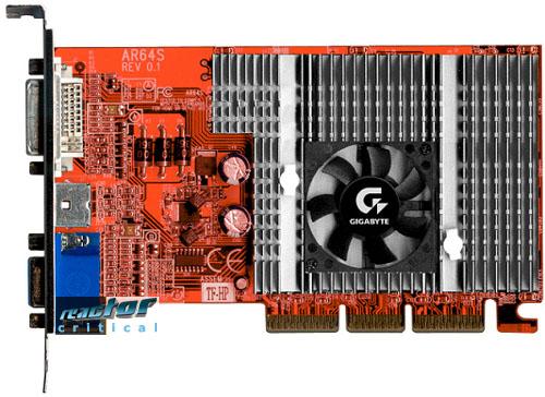 Gigabyte MAYA AR Karte (Radeon 7500LE)