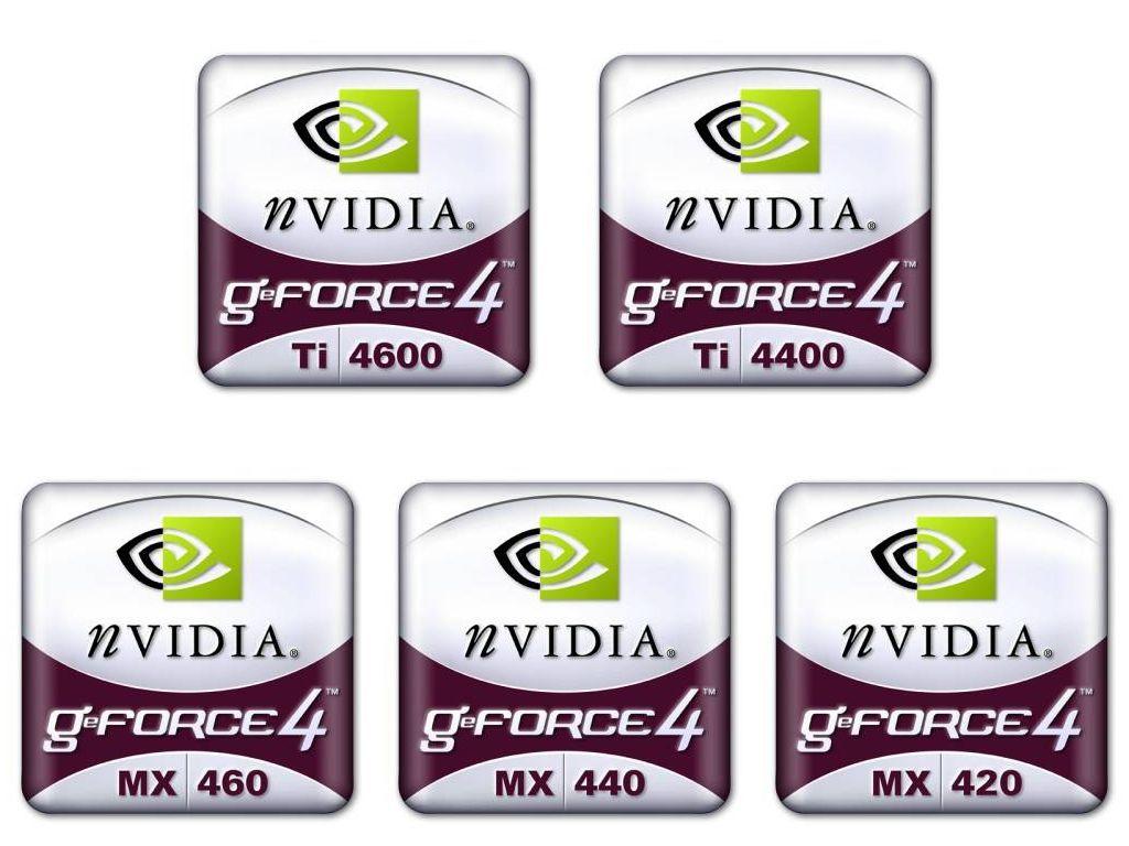 Inoffizielle GeForce4 Logos