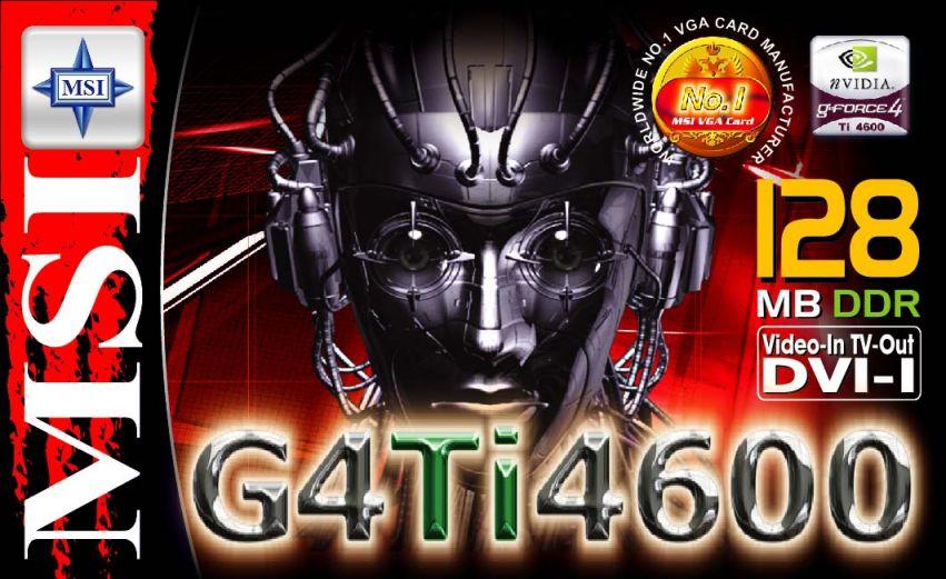 MSI G4Ti4600 Box