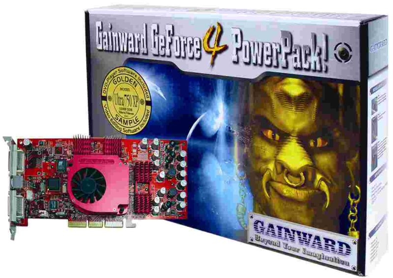 Gainward GeForce4 PowerPack! Ultra/750 XP