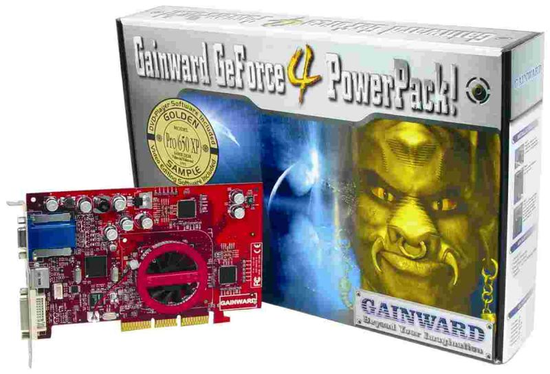 Gainward GeForce4 PowerPack! Pro/650 XP